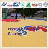 Материал/баскетбольная площадка настила баскетбольной площадки сертификата Ce напольные
