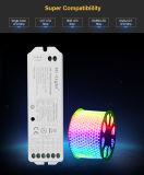 単一カラーDimming/CCT/RGB/RGBW/RGB+CCT LED滑走路端燈のための1つのスマートなLEDのコントローラに付き5つ