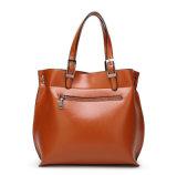 Bolsa elegante do volume grande de couro novo do saco de Tote