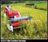 moissonneuse de petite taille de riz de poids léger de 13HP 650kg mini à vendre