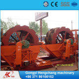 Equipo que se lava de la arena de la rueda de la alta calidad en China