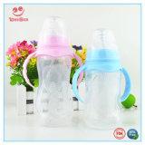 Botella automática BPA bebé libre de la leche con manijas