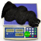 "Extensão brasileira natural do cabelo humano do cabelo 100% do Virgin - You Can Get 24 ""  Hair at 20 ""  Preço. Laborhair 037"