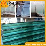 Balustre en verre de balcon de pêche à la traîne bon marché de construction, glace de balustrade