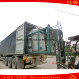 Planta de refinería de aceite vegetal 5t refinería de petróleo Planta de la palma