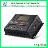 LCD het de ZonneLader van de Batterij van het Lithium van de Vertoning 12V/24V 40A/Controlemechanisme van de Last (qwp-SR-HP2440A)