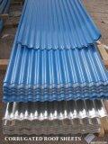 folha ondulada duramente galvanizada cheia de 0.19mm para telhas de telhadura