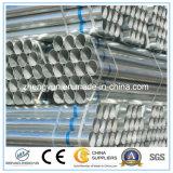 Pipe Q235 en acier galvanisée plongée chaude