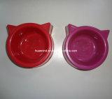 Kleine Miezekatze-Kopf-Haustier-Schüssel-Zufuhr, Haustier-Produkt
