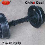 中国炭鉱車の車輪セット