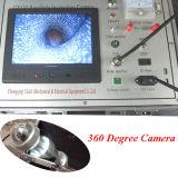 Cámara rotatoria de la perforación de 360 grados y cámara subacuática, cámara bien del agua profunda, cámara de vídeo
