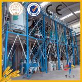 Venta caliente de 40 toneladas por día Estructura de acero de la máquina de construcción maíz / harina de trigo Molino en China