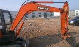 Mini máquina escavadora Digger usada /Excavator Doosan de MIDI 55 Dh55 para a venda