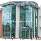 Energieeffizienz-thermisch gebrochene Rahmen-doppelte Glasaluminiumfassade