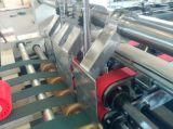 Automatische gluer-Inlassende van de Omslag Flexo Druk die Machine vouwt