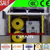Purificador de petróleo móvel do transformador do vácuo, unidade de filtração portátil da regeneração do petróleo