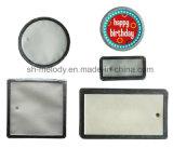 고급 피지 종이 Scrapbooking와 카드 만들기를 위한 알루미늄 변죽 꼬리표