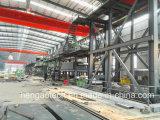 Riga d'acciaio preverniciante della macchina di rivestimento di colore
