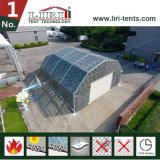 屋外軍隊および格納庫のアルミニウム構造のテントのためのアルミニウムによって曲げられる屋根TFSのテント