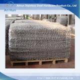 Fabbrica di Gabion della maglia dell'acciaio inossidabile