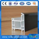 UPVC&PVC Windows et portes, portes coulissantes de profil d'UPVC, couleur en bois glissant la porte d'UPVC