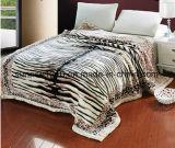 Coperta solida del visone della coperta del visone stampata Sr-B170214-19 della coperta del visone di alta qualità