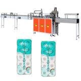Empaquetadora de Rolls del tocador de la máquina de rellenar del papel de tejido del hotel