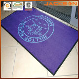 Polvere-Control commerciale Logo Mat con Rubber Backing