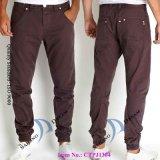 Dos homens Brand Jeans Men Jeans com Cuffed Perna Pj1395