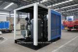空気か水によって二重ねじ静止したOillessの冷却される圧縮機