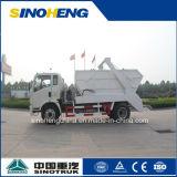 Sinotruk 수송 쓰레기를 위한 5 톤 건너뜀 로더 트럭