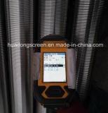 """5 """" 1/2 23ppf N80 Btc管によって基づくワイヤーによって包まれるスクリーンのジャケット"""