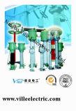 Structure inversée de série de Lvqb avec l'isolation de papier immergée dans l'huile des transformateurs de courant