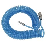 5개 mm로 9m 반동 공기 호스 8 밝은 파란색