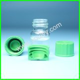 Glasphiolen mit Überwurfmuttern