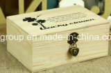 De milieuvriendelijke Aangepaste Houten Doos van Juwelen voor de Decoratie van het Huis