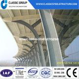 주문을 받아서 만들어진 높은 Qualtity 2 지면 강철 구조물 Prefabricated 건물 가격