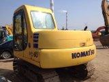 使用された6トンの小型小松の油圧クローラーPC60-7掘削機