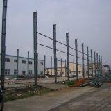 Taller ligero pintado prefabricado de la estructura de acero con tiempo de instalación corto