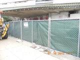 La rete fissa provvisoria della costruzione riveste 6 ' caldi di pannelli di larghezza di x12 tuffata galvanizzato 200 grammi/Sqm
