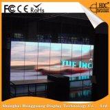 Cartelera de interior montada en la pared ahorro de energía de la visualización de LED de Digitaces que hace publicidad (P3.91)