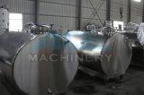 1000L Sanitaria en forma de U de la leche del tanque de refrigeración (ACE-ZNLG-T1)