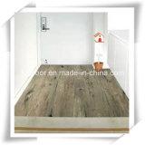 Suelo de madera del tecleo del PVC Unilin Lvt del azulejo de suelo del vinilo del PVC de la capa ULTRAVIOLETA
