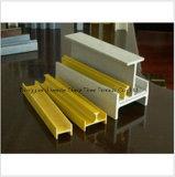 Perfil ambiental de la fibra de vidrio FRP Pultruded con de alta resistencia