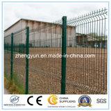 2017熱い販売は金属によって溶接された金網の庭の塀に電流を通した