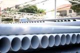 Tubulação plástica do PVC da tubulação de Swj