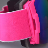 Защитные стекла Eyewear катания на лыжах рамки TPU с широкой головной полосой