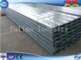 Гальванизированный канал c нержавеющих/углерода стали для конструкции (CC-001)