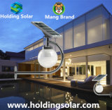 Lumière de mur de jardin du panneau solaire DEL de monocristal avec du ce