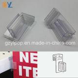 PVC Sign Holder di Clear Plastic del supermercato per Shop Fitting